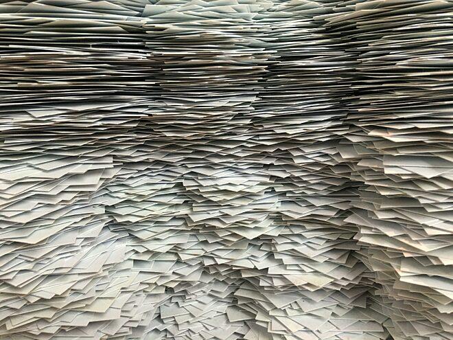 Veel papier